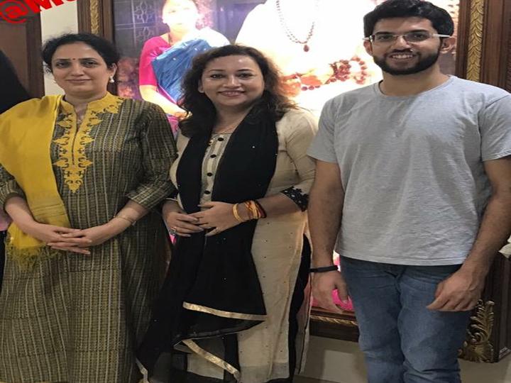 Aditya Thackeray& Rashmi Thackeray