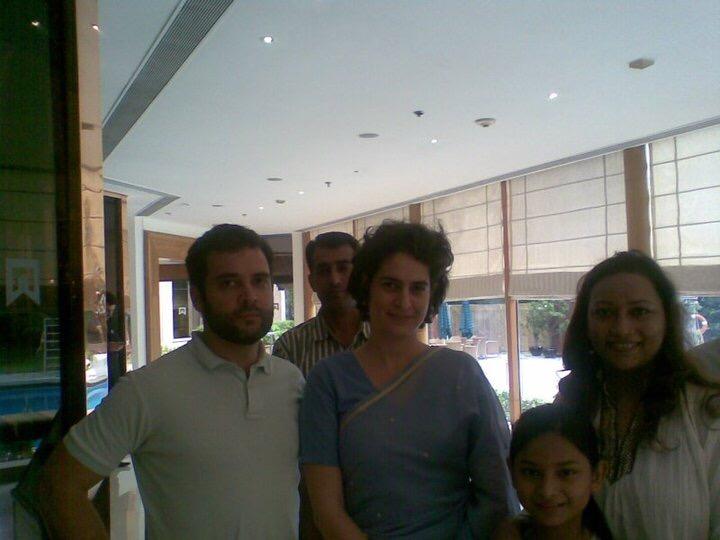 Rahul & Priyanka Gandhi(President, Congress)