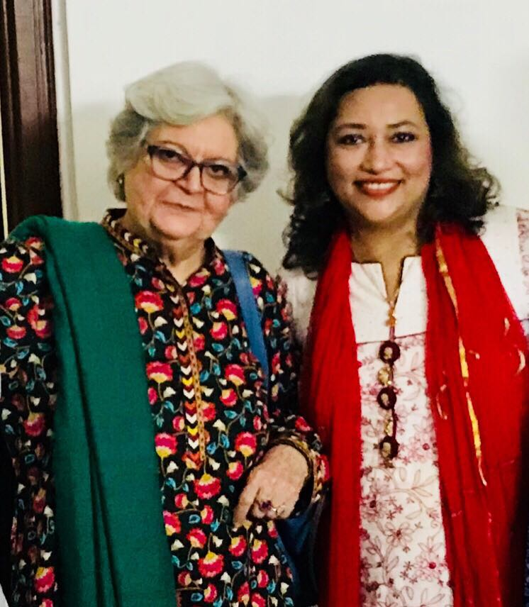 Salima Hashmi, Art Critique (D/O Faiz Ahmad Faiz, Poet)