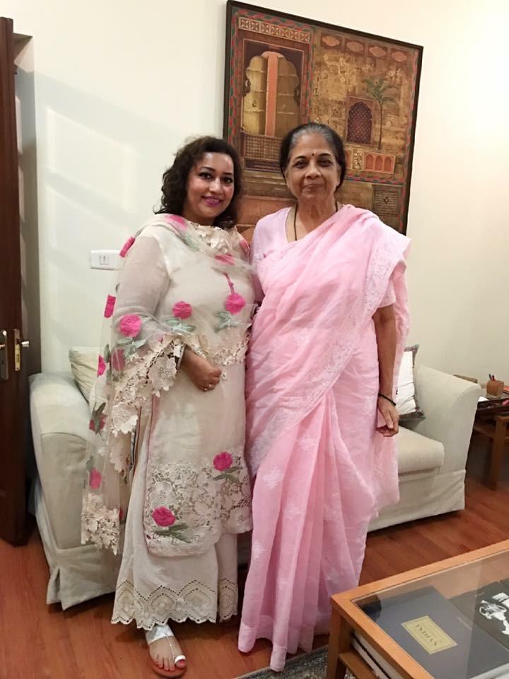 Mrs. Pratibha Pawar  (W/O  Shri Sharad Pawar)