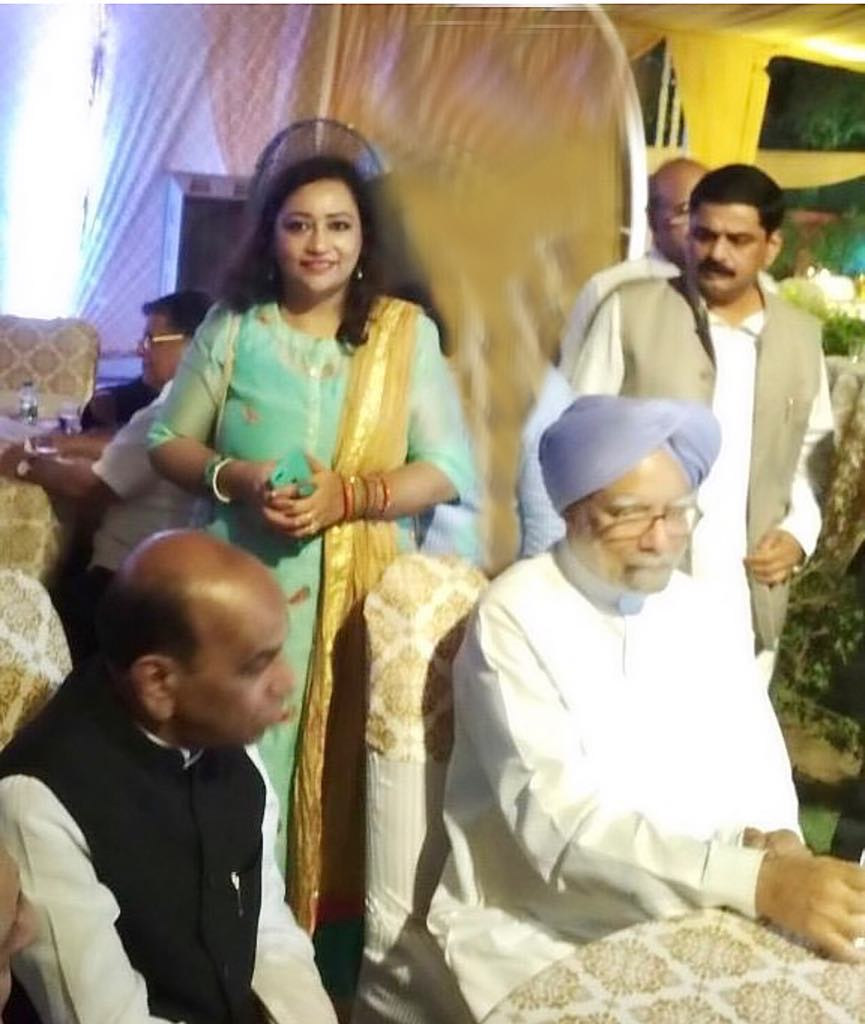 With Manmohan Singh Ji, Ex PM, India and Late Prof. DP Tripathi Ji(MP)