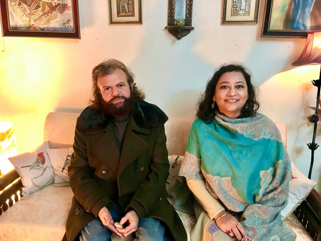 With Hans Raj Hans ji ( MP and Celebrity Bollywood - Sufi- Folk Singer)